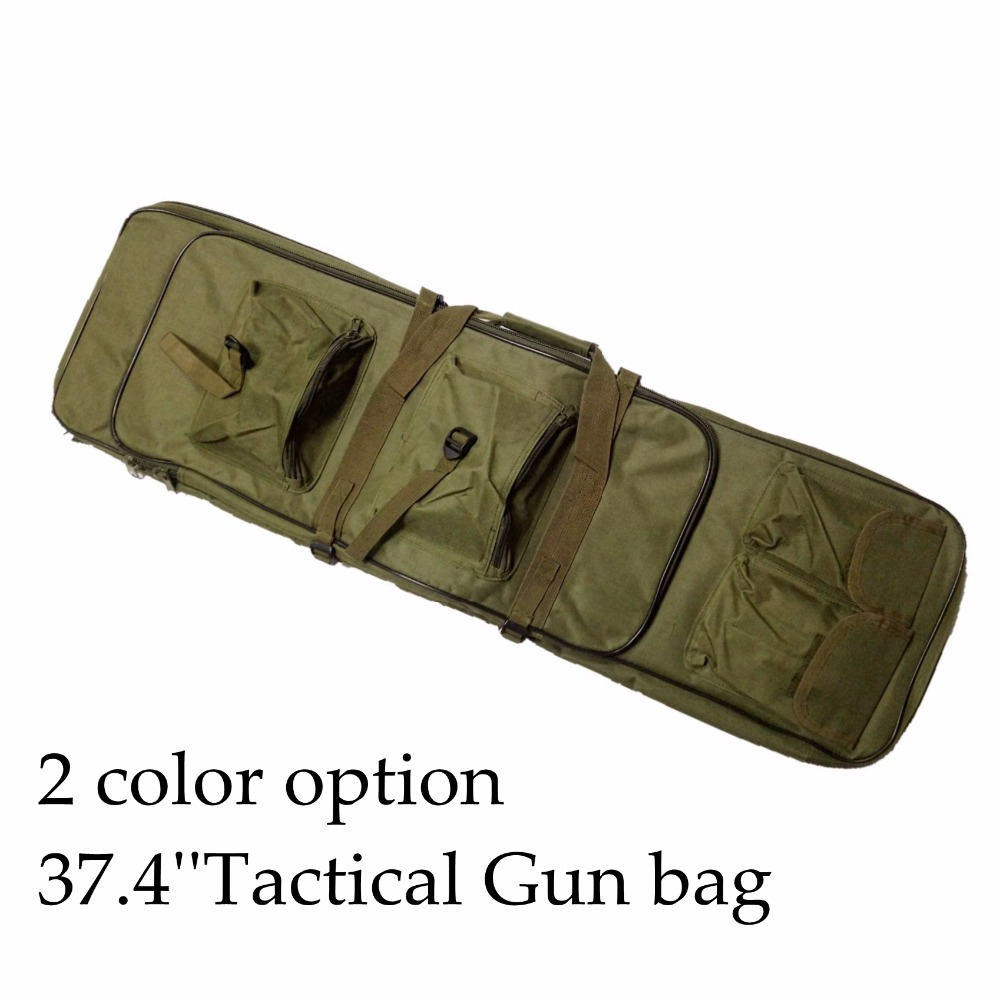 цена на 39.4 Tactical Rifle Sniper Carrying Case Gun Bag Airsoft Paintball Hunting Shooting Rifle Gun Case