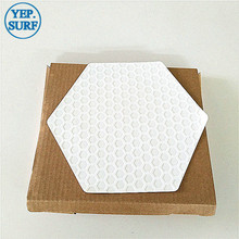 Surf deck pad Honeycomb surfboard Silica gel traction 10-sheets Traction Stomp Pad