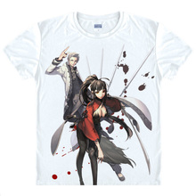 Blade Soul Camisetas kawaii camiseta japonesa del animado camisa de manga  camisa Linda pohwaran Jin SEO Yeon Cosplay camisetas 4. 87d5499946b4