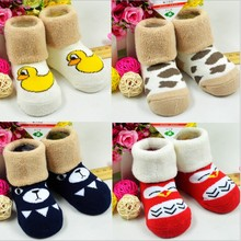 New 2016 Lovely Winter Baby Socks for Babies Girl Kids Accessories New Born Sock Meias
