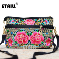 2016 Hmong Boho Embroidered Floral Bags Women Shoulder Bag Ethnic Chinese Style Famous Brand Logo Messenger Bags Sac a Dos Femme