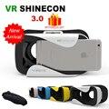 VR Shinecon 3.0 3 D Casque Box 3D Virtual Reality Glasses Goggles Headset Helmet For Smartphone Smart Len Vrbox Google Cardboard