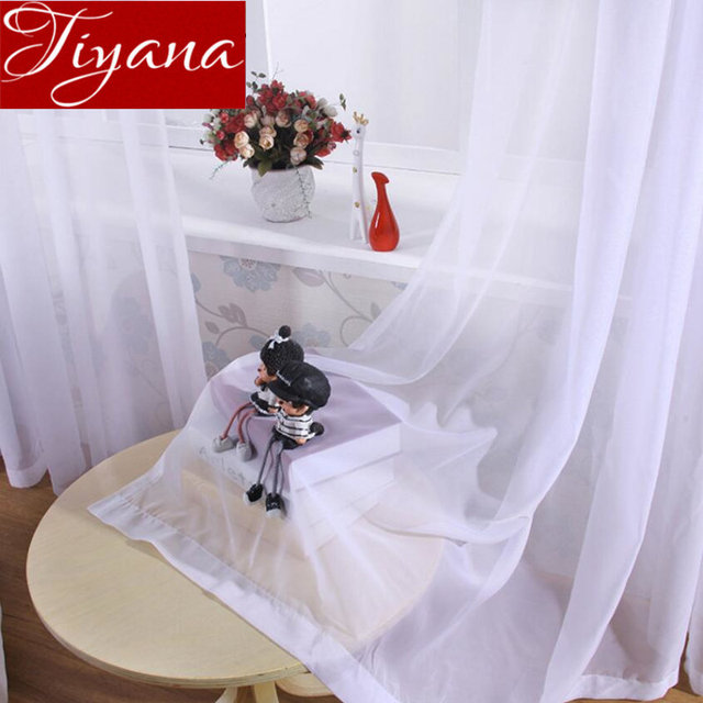 US $3.25 38% OFF Weiß Vorhang für Moderne Wohnzimmer Kinderzimmer Sterne  Fenster Schlafzimmer Behandlung Sheer Stoffe Küche Vorhang Cortinas T & 184  ...
