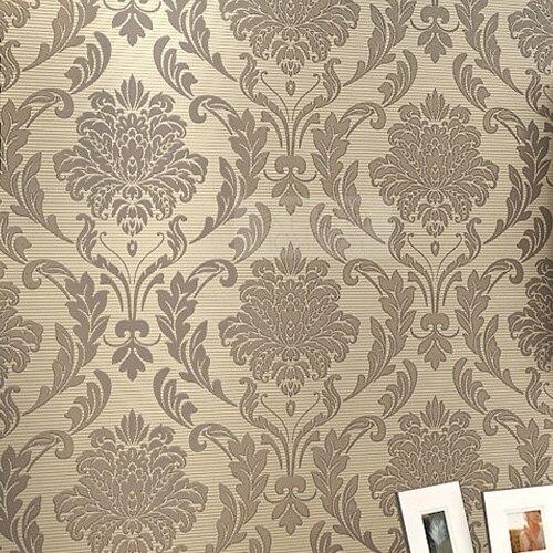 Wallpaper Wall Decor Paper : Get cheap yellow damask wallpaper aliexpress