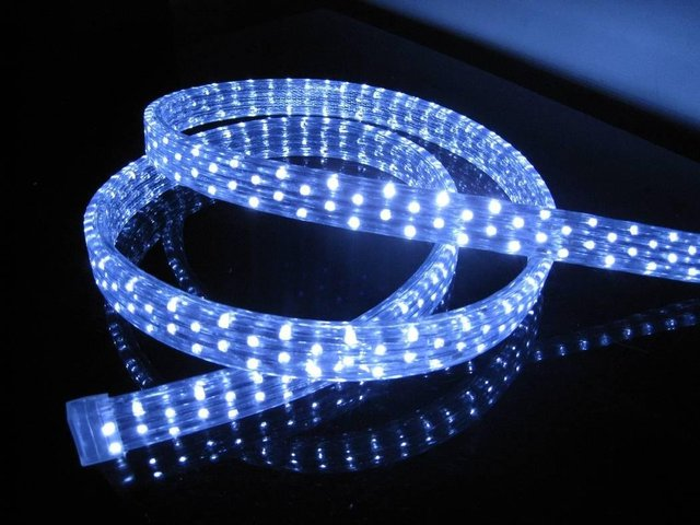 100m/roll LED 5 wires flat rope light;36leds/m;size:11mm*28mm;DC12V/24V/AC110/220V are optional;warm white color