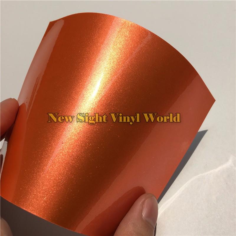 Glossy-Orange-Candy-Metallic-Vinyl-Wrap