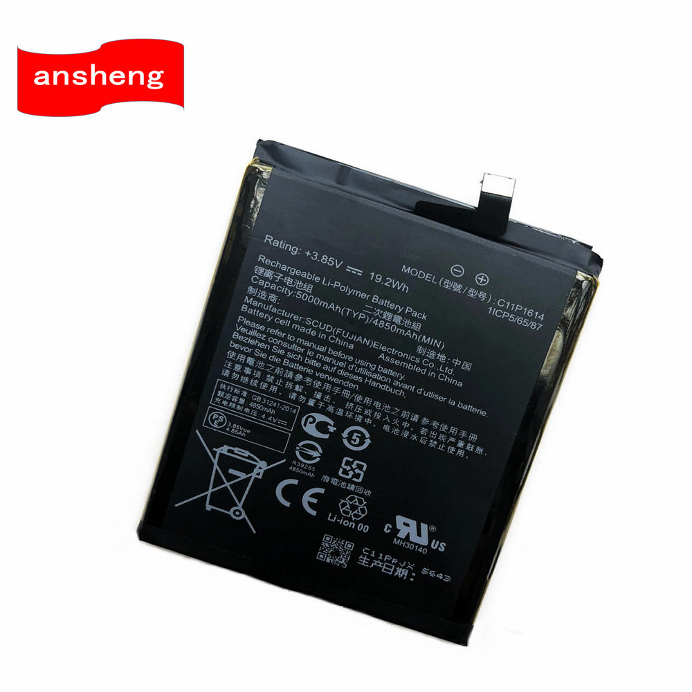 Mobile Phone Parts Energetic 4850mah C11p1614 Battery For Asus Zenfone 3s Max Zenfone 3s Max Dual Sim Td-lte Zenfone Pegasus 3s Zc521tl Smartphone Cellphones & Telecommunications
