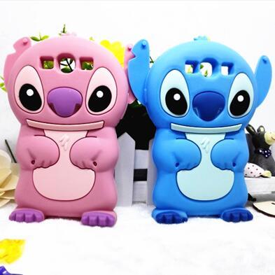 Coque Lilo StitchCute Cartoon Cover for Samsung Galaxy S3 S4 S5 Mini 3D Silicone Case for Samsung Galaxy S3 S4 S5 S6 S6 Edge New