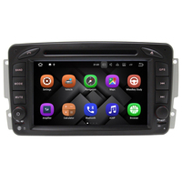 Quad Core 1024*600 Android 7.1 Voiture DVD GPS pour Mercedes W203 W209 CLK W163 W168 W463 W639 Viano VITO Sprinter Radio Navigation