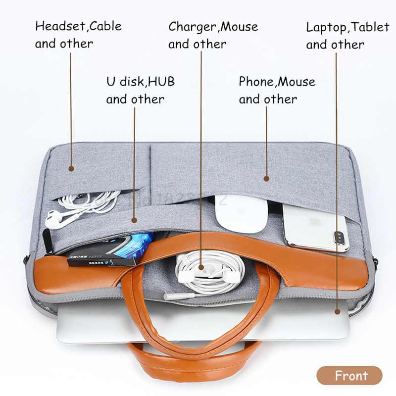 תיק מחשב נייד עבור ה-macbook Air 11 13 12 15 Pro 13.3 15.4 אינץ מחשב נייד שרוול מקרה Tablet PC Case כיסוי לxiaomi אוויר HP Dell
