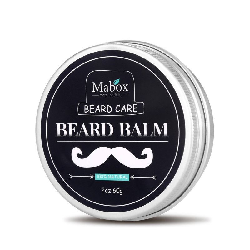 New Men Beard Balm Leave-in Conditioner All Natural <font><b>Vegan</b></font> Friendly Organic Oils and Butters Shaving cream