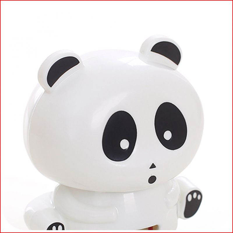 9W Cute Panda Hand Nail Art Tips Polish Dryer Blower Manicure Air Dryers Lamp Dry Battery Button Perfect Thumb Solution In From Beauty