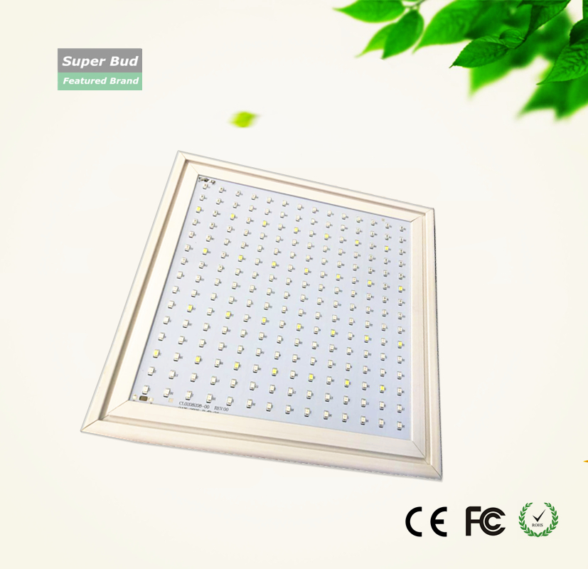 24W 47W LED grow light panel seeding tissue culture plantlets vertically plant factory hydroponics system vegetable flower fruit plant tissue culture