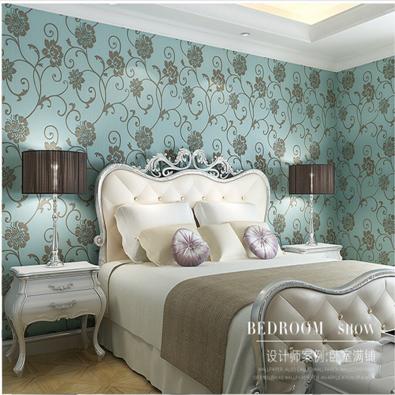 ФОТО Beibehang wallpaper for walls  wall paper living room bedroom wall paper backdrop stereoscopic 3D relief idyllic green wallpaper