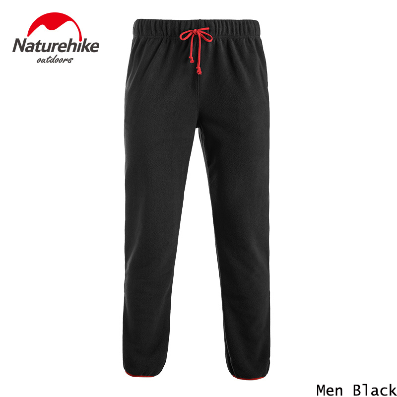 ФОТО Naturehike Men's and Women's Trousers Sport Fleece Pants Ourdoor  Camping Elastic Pants Closed Hem Pants NH17Z001-RM/NH17Z001-RW