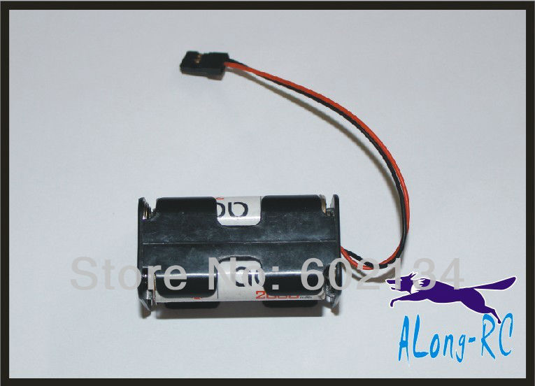 free shipping sell:RC airplane /model spare part 4*AA battery box for the gas plane /car model