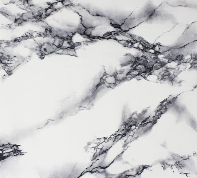 High Gloss Black And White Marble Vinyl Contact Paper Shelf Drawer Peel Stick In Wallpapers From Home Improvement On Aliexpress