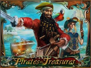 HOT GAME Pirates Treasures  for casion machine gambling game
