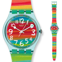 Swatch watches the original colorful series of quartz watch GS124