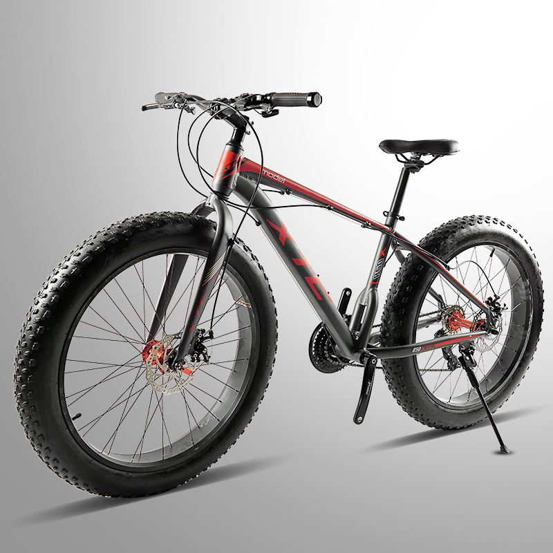 Amo la libertad Citroen calidad bicicleta de montaña 26*4,0 de grasa bicicleta 24 velocidad grasa neumático de la bicicleta de doble disco de freno de bicicleta entrega gratuita
