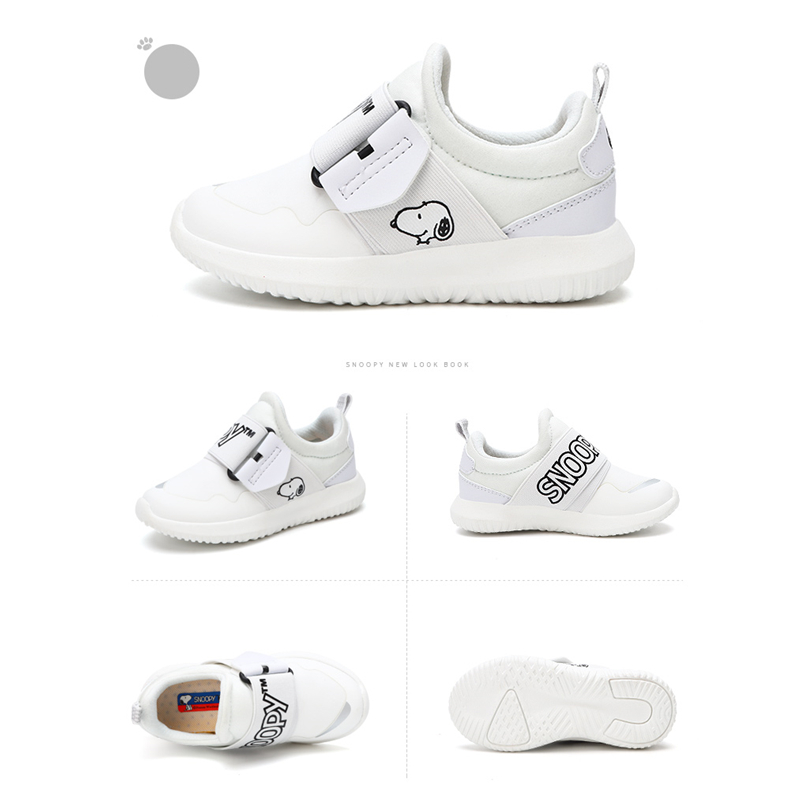 fcd8815449 Snoopy Kids Shoes Quality Canvas Casual Sports Shoes for Boy 2018 Brand Spring  autumn Baby Boys Sneaker Buckle Strap Comfortable-in Sneakers from Mother  ...