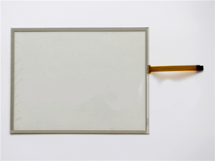 One For AMT 91-09543-00A 15-inch 4wire Touch Screen Glass Panel amt 146 115 4 wire resistive touch screen ito 6 4 touch 4 line board touch glass amt9525 wide temperature touch screen