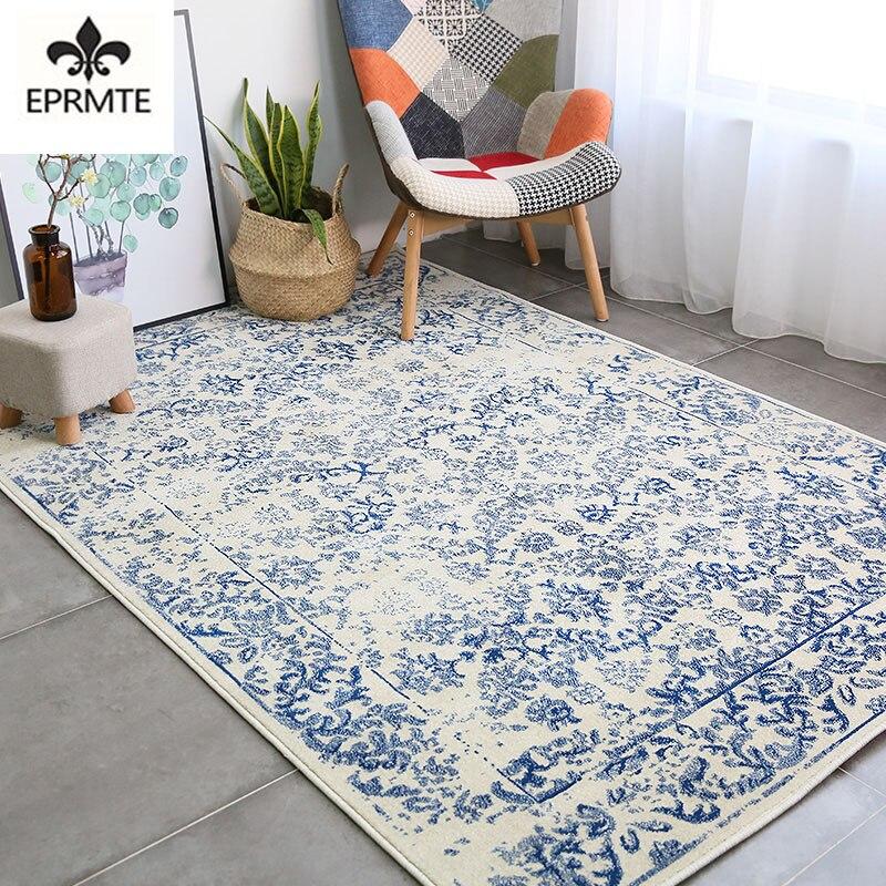 Импорт ковров Nordic минималистский американский стиль гостиная и дома журнальный столик мат прикроватная тумбочка для спальни одеяло украше...
