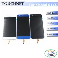 High Quality Tested Good LCD Display For XIAOMI Mi6 And Touch Screen Digitizer Replacement Cellphone Assembly
