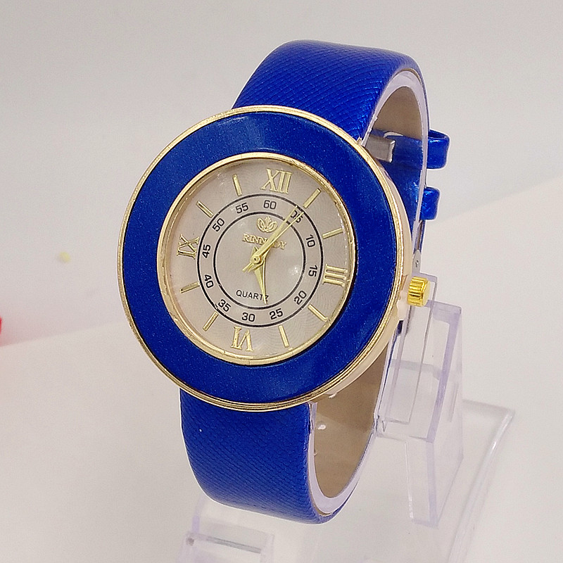 2017 Fashion Luxury Brand Watch Women Leather Quartz Ladies Watches Roman Numerals Big Dial Watch Montre Femme relogio feminino luxury big dial brand women watch vilam austria rhinestones miyota movement leather band quartz watch ladies clocks