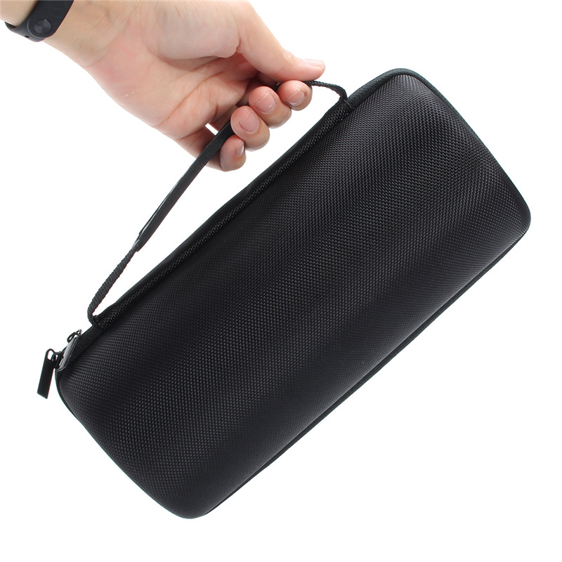 LEORY New Arrival Hard EVA Portable Speaker Case for Bose Soundlink Revolve Plus Shockproof Storage Case 22mm 24mm black mens genuine leather watch strap band