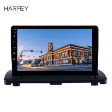 Harfey Android 8.1 9 cal ekran dotykowy HD Radio dla Volvo XC90 2004-2014 nawigacja GPS WIFI sterowania Wheeel kontroli DVR OBD2