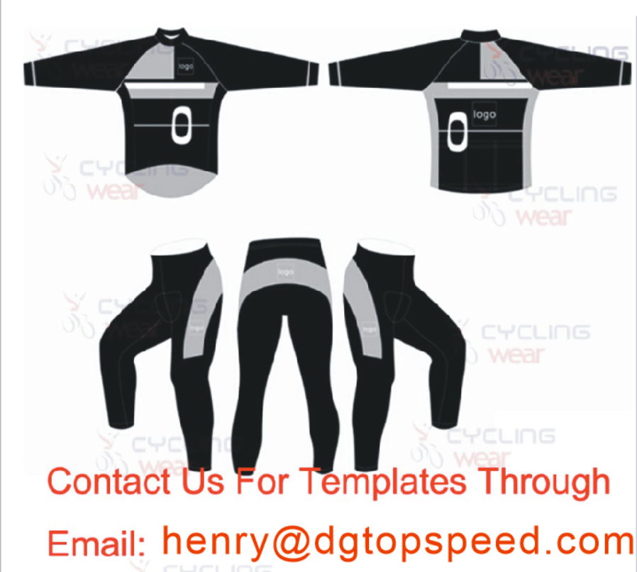 2016 Custom Cycling Jersey / Winter Thermal Fleece Cycling Jersey sets / Ropa Ciclismo Invierno MTB Bike Clothing цены онлайн