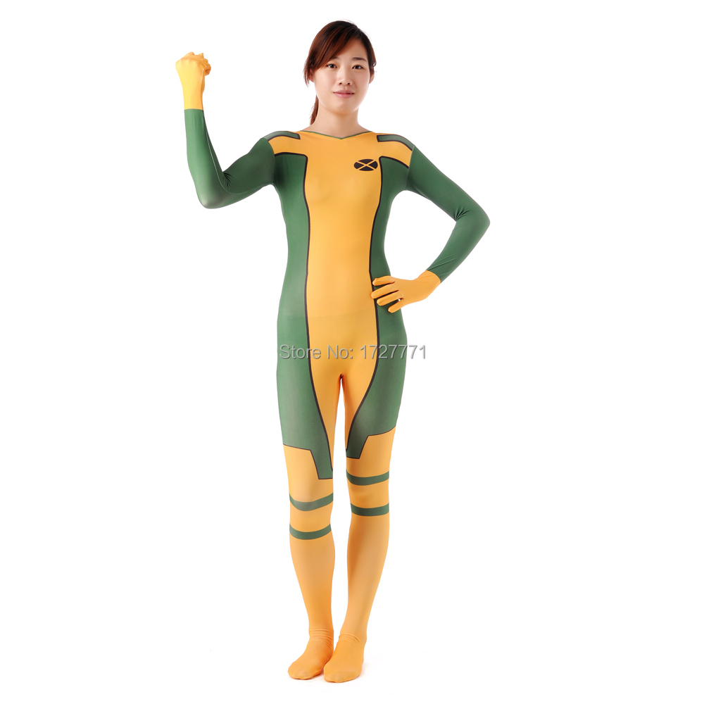 (jxy015) Full Body Lycra Spandex Zentai Suit Motivo Della Tuta Halloween Costume Party Moderno Ed Elegante Nella Moda