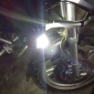 Image 5 - Huiermeimi 2PCS 125W Motorrad LED Scheinwerfer 12V 3000LMW U5 Motorrad Fahren Scheinwerfer Scheinwerfer Moto Spot Kopf Licht lampe DRL