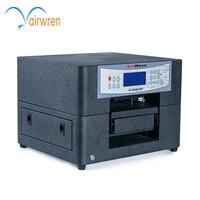 Портативный A4 размер тепло пресс футболка мини печатная машина dtg принтер с белыми чернилами