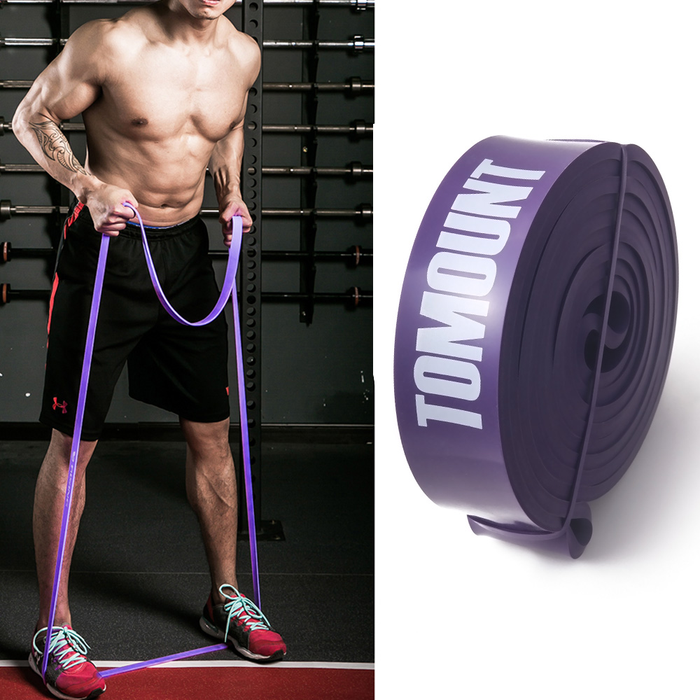 TOMOUNT Gummi Elastisk Fitness Body Building Modstandsbånd - Fitness og bodybuilding - Foto 3