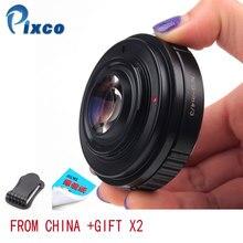 Pixco N.G M 4/3 Speed Booster Focal Reducer Lens Adapter Pak Voor Nikon F Mount G Lens Pak Voor Micro four Thirds 4/3 Camera