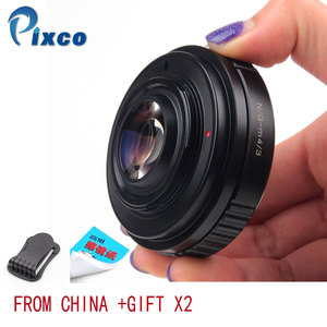 Image 1 - Pixco N.G M 4/3 Speed Booster Focal Reducer Lens Adapter Suit For Nikon F Mount G Lens to Suit for Micro Four Thirds 4/3 Camera
