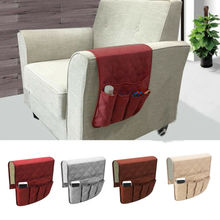 Sofa Organizer 5 Pocket Couch Arm Rest Remote Control Storage Holder Chair 2019 New 4 Color