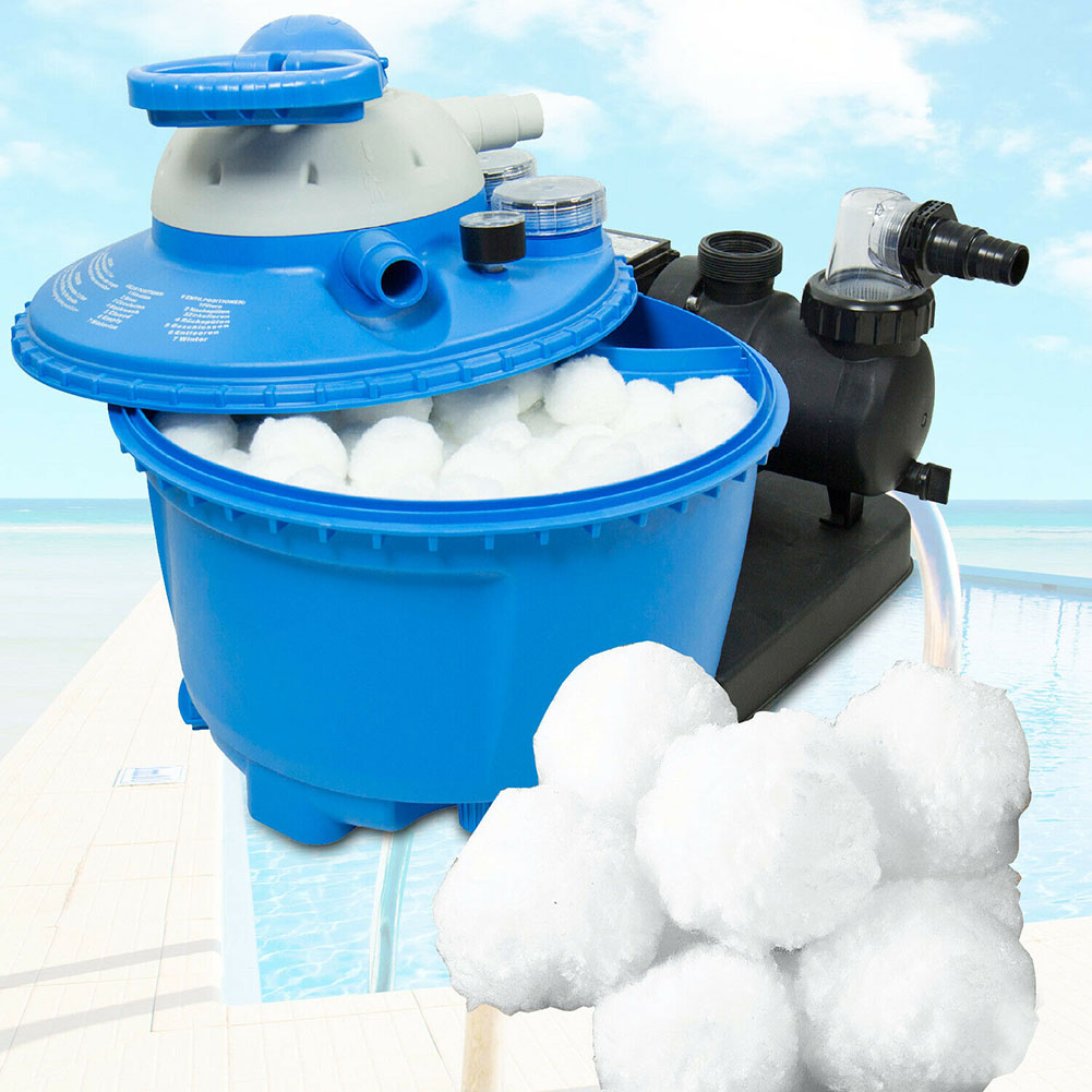 Filter Ball Sand Lightweight Durable Eco-friendly For Swimming Pool Cleaning Equipment EDF88