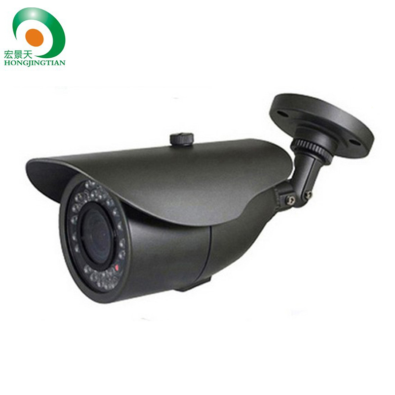 ФОТО 800TVL CMOS with IR-CUT filter switch 24pcs IR leds Day/night indoor/outdoor CCTV camera with bracket. Free Shipping