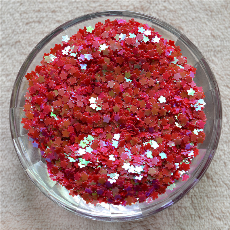 New Multi Colors 30g 3mm Lovel Flower Shape Pvc Loose Sequins Paillettes Nail Art Manicure/women Diy/wedding Decoration Confetti Careful Calculation And Strict Budgeting Home & Garden