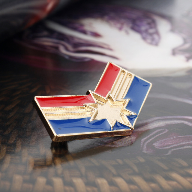 Брошка Капитан америка Марвел