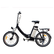 36v 250w Electric Bike With Brushless Electric Wheel Lithium Battery in frame Standard Type foldable Electric