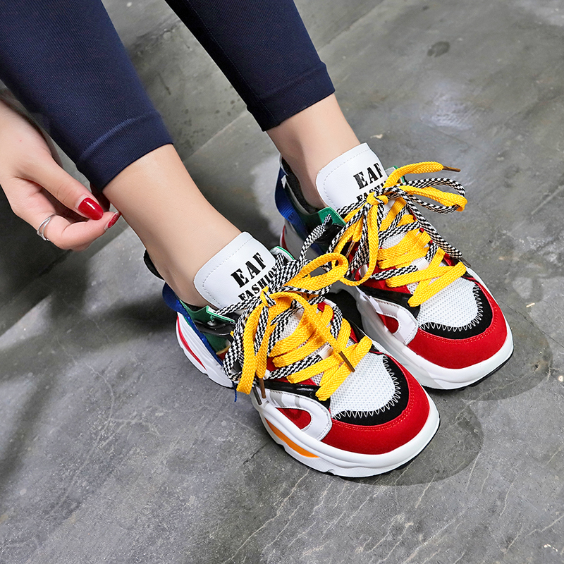 Ulzza Harajuku Stylish Women Running Shoes