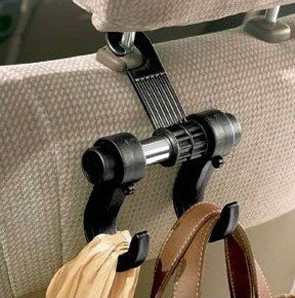 Fajne mody wygodne podwójne pojazdu wieszaki Auto samochód podłokietnik do siedzenia torba uchwyt z hakiem nowy
