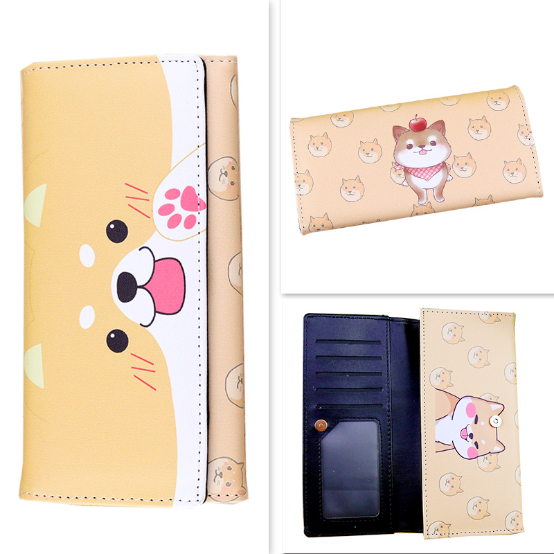 Kawaii Neko Atsume Card Holder Purse 1