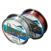 100 meters fishing line High quality strong tensile nylon raw silk fishing line quality super strong wear fishing line