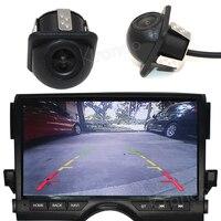 Otomobiller ve Motosikletler'ten Araç Kamerası'de Araç kamerası araç arka görüş kamerası dikiz Back park monitörü 170 Derece evrensel otomatik kamera gece görüş HD
