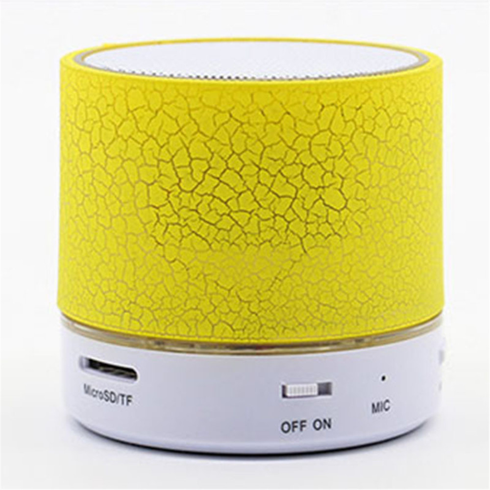 Colorful wireless portable card subwoofer mobile phone outdoor mini stereo a9 Bluetooth speaker crack sound in Portable Speakers from Consumer Electronics